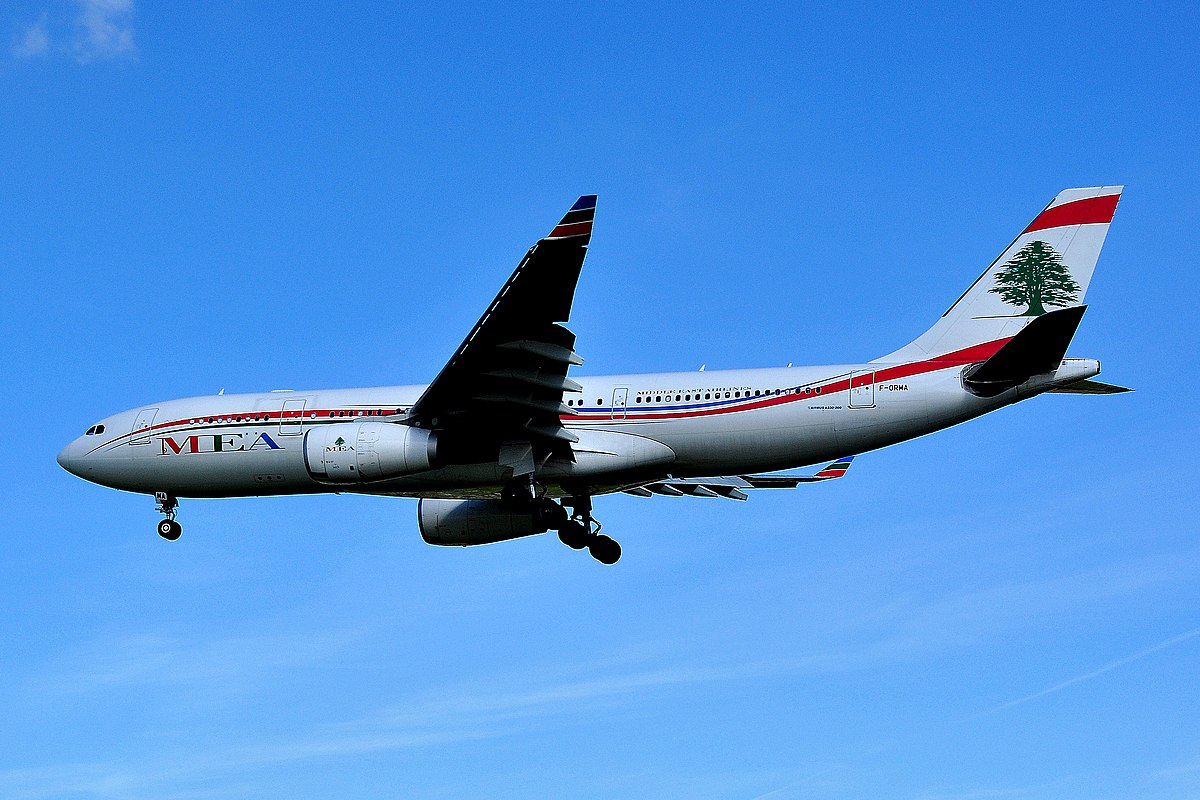 Middle East Airlines - Wikipedia |Nicest Middle Eastern Airline