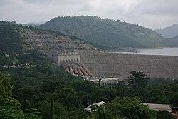 Akosombo Dam hydroelectric plant.jpg