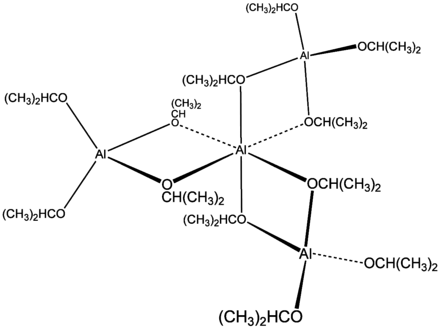 Aluminum isopropoxide structure