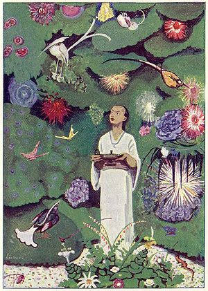 Aladdin (opera) - Image: Aladdin in the Magic Garden Project Gutenberg e Text 14221