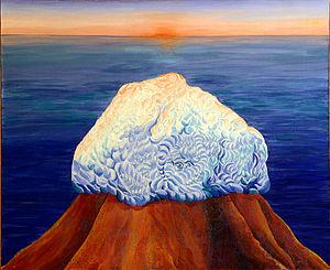 Ynglism - Alatyr Stone, by Russian artist Lola Vyacheslavovna Lonli.