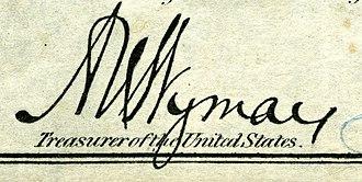 A. U. Wyman - Image: Albert Uriah Wyman (Engraved Signature)