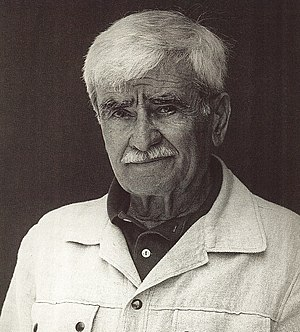 Alberto Burri - Alberto Burri, photographed by Nanda Lanfranco
