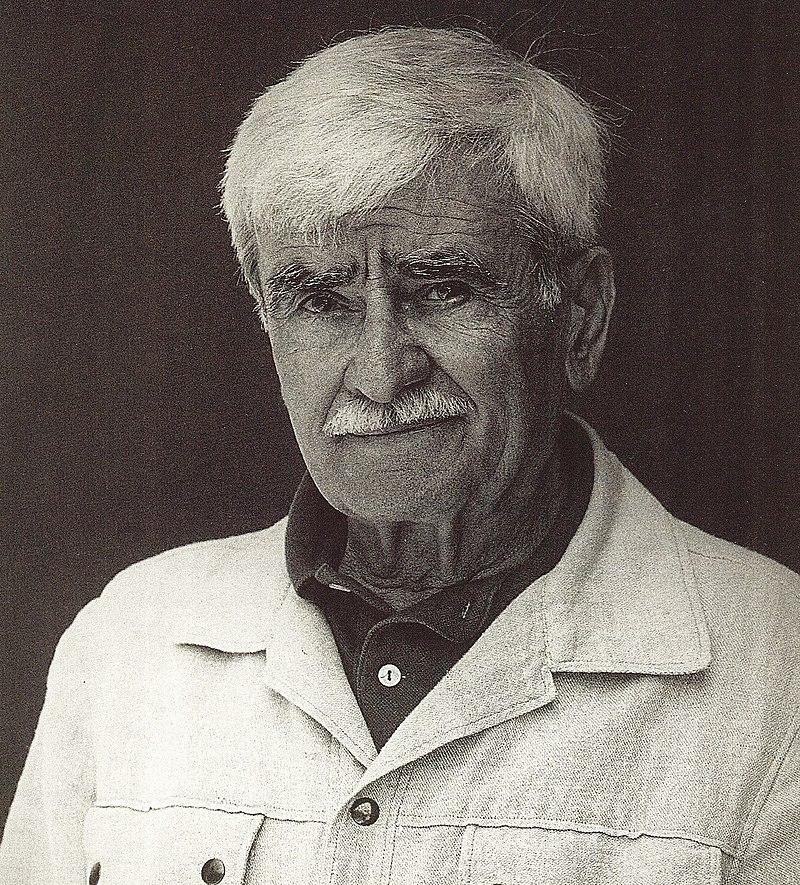 Alberto Burri, fotografato da Nanda Lanfranco