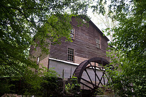 National Register of Historic Places listings in Gwinnett County, Georgia - Image: Alcovy Grist Mill