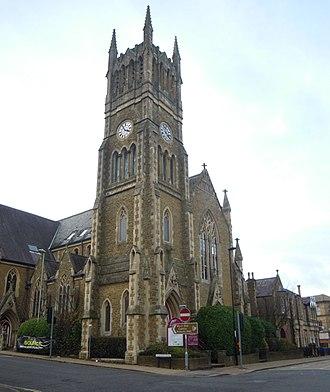 Wesleyan Church, Aldershot - The Wesleyan Church in Aldershot in 2016