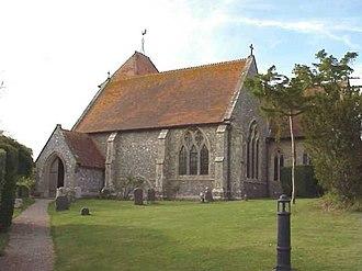 Aldworth - Image: Aldworth Church 2000