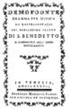 Alessio Prati - Demofoonte - titlepage of the libretto - Venice 1786.png