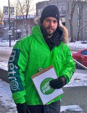 Alexandre Barrette - Alexandre Barrette in Montreal, February 2014.