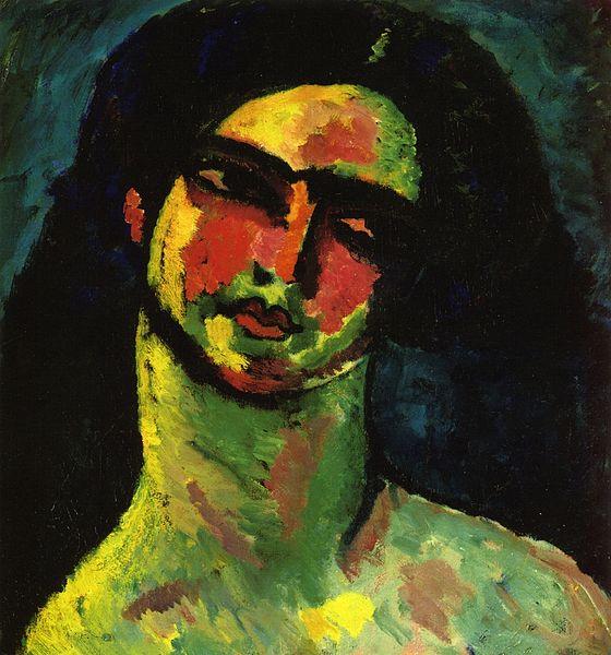File:Alexej von Jawlensky - Kopf einer Italienerin mit schwarzem Haar.jpg