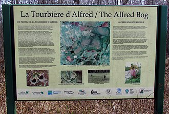 Alfred and Plantagenet - Image: Alfred Bog trail sign