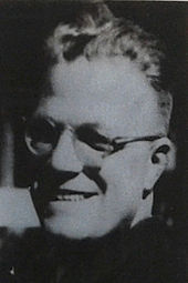 A smiling, bespectacled Alfred Delp