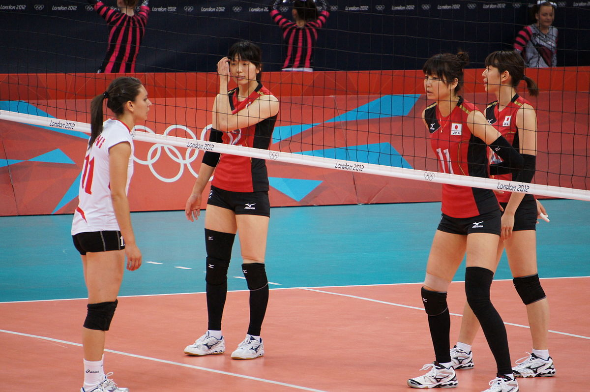 File Algeria And Japan Women S National Volleyball Team At The 2012 Summer Olympics 7913964070 Jpg Wikimedia Commons