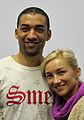 Aljona Savchenko und Robin Szolkowy bei der Olympia-Einkleidung Erding 2014 (Martin Rulsch) 02.jpg