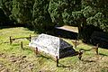 All Saint's Church Chillenden Kent England - churchyard fenced tomb.jpg