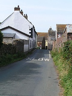 Allonby A village on the Cumbrian coast in England