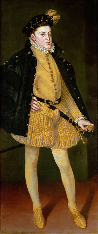 Carlos, Prince of Asturias - Portrait by Alonso Sánchez Coello, 1564