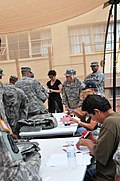 Alpha Company 72nd Brigade Special Troops Battalion Body Armor Turn In DVIDS303940.jpg