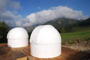 Astronomische Kuppeln des AAV