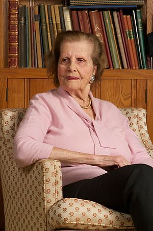 Maria Altmann - Altmann at her home in 2010