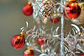 Aluminum Christmas tree - needles - 2009.jpg