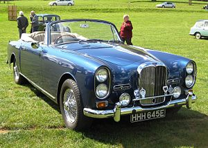 Convertible - Alvis TF 21 drophead coupé, 1967