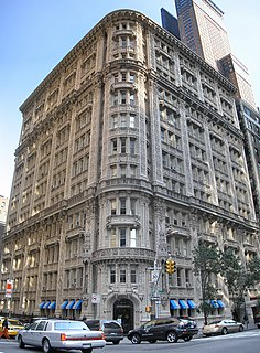 Alwyn Court Residential building in Manhattan, New York
