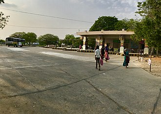 Amaravathi (village), Guntur district - Amaravathi bus station