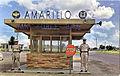 Amarillo Air Force Base - Front Gate - Postcard.jpg