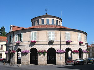 Ambert - Town hall (originally the grain market)
