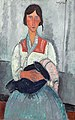 Amedeo Modigliani - Gypsy Woman with Baby (1919).jpg