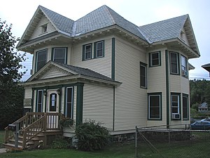 National Register of Historic Places listings in Franklin County, New York - Image: Ames Cottage, Saranac Lake, NY