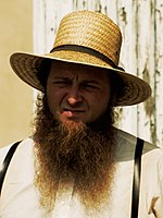 Amish Man in straw hat, suspenders, and shenandoah beard.jpg