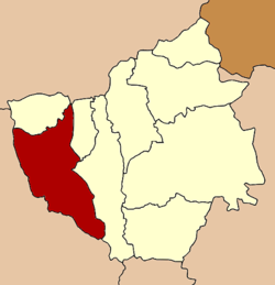 Location in Phayao Province
