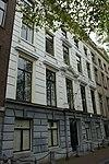 foto van Dubbel huis met gevel met middenrisaliet