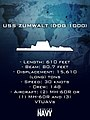An informational graphic depicting USS Zumwalt (8619670326).jpg