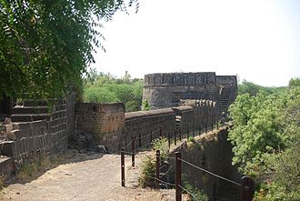 Ahmednagar Fort - Image: Anagar fort main