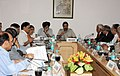 Anand Sharma at a meeting with the CII on FDI inflows, FDI Policy, manufacturing Policy, decline in manufacturing output and take on board the concerns of stakeholders, in New Delhi on July 13, 2011.jpg
