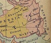 Ancient Khorasan highlighted