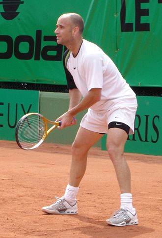 Kooyong Classic - Former World No. 1 Andre Agassi appeared in six finals between 1998 and 2004, winning three and losing three