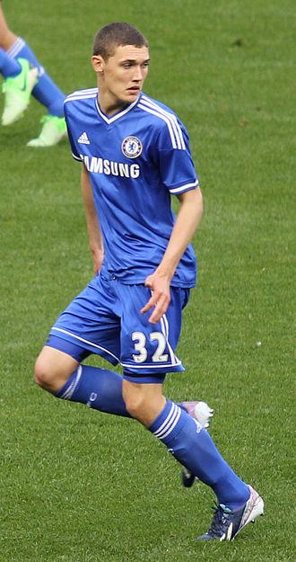 Andreas Christensen - Christensen playing for Chelsea in 2013