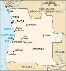 angola carte afrique