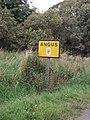 Angus Unitary Authority boundary sign - geograph.org.uk - 559300.jpg