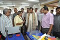Anil Shrikrishna Manekar Explaining Portable Fun Science Exhibits To Mahesh Sharma - CRTL Workshop - NCSM - Kolkata 2017-07-11 3449.JPG