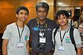 Ankan Ghosh Dastider - Rangan Datta - Pratyya Ghosh - Bengali Wikipedia 10th Anniversary Celebration - Daffodil International University - Dhaka 2015-05-30 1758.JPG