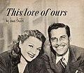 Anne Baxter with her then husband John Hodiak, 1950.jpg