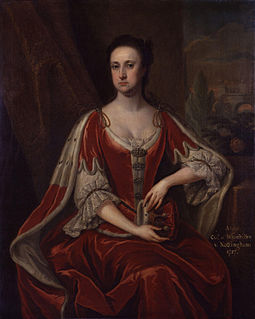 Anne Finch, Countess of Nottingham second wife of Daniel Finch, 2nd Earl of Nottingham