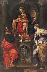 Madonna and Child with Saints John the Baptist, John the Evangelist, and St. Catherine