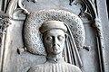 Anonimo artista locale, Pietra tombale di un magistrato della famiglia Grillo, seconda metà secolo xv 02.jpg