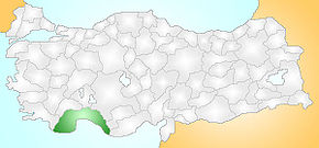 Antalya Turkey Provinces locator.jpg
